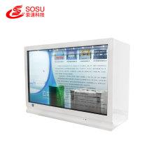 43 inch transparent showcase advertising digital signage