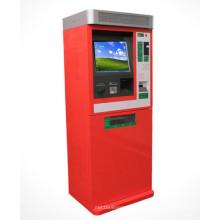 Anunciando a máquina terminal do quiosque do pagamento de Bill da tela de toque da informação exterior