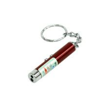 Mini Leychain de lampe-torche de torche en métal pour des cadeaux de souvenir et de promotion