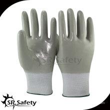 SRSAFETY Anti-oil full nitrile coated glove/work glove/safety glove