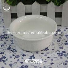 Keramik-Schüssel für zu Hause, weiße Porzellanschale mit Logo, Schüssel für Restaurant