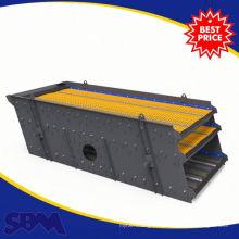 Aplicação de minerais 3YA1860 modelo de 3 camadas de pedra + vibração + tela com capacidade de 50-350 t / h