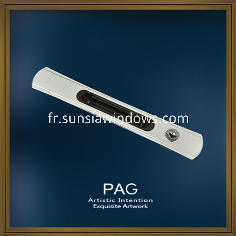 High Quality Zinc Alloy Sliding Handle