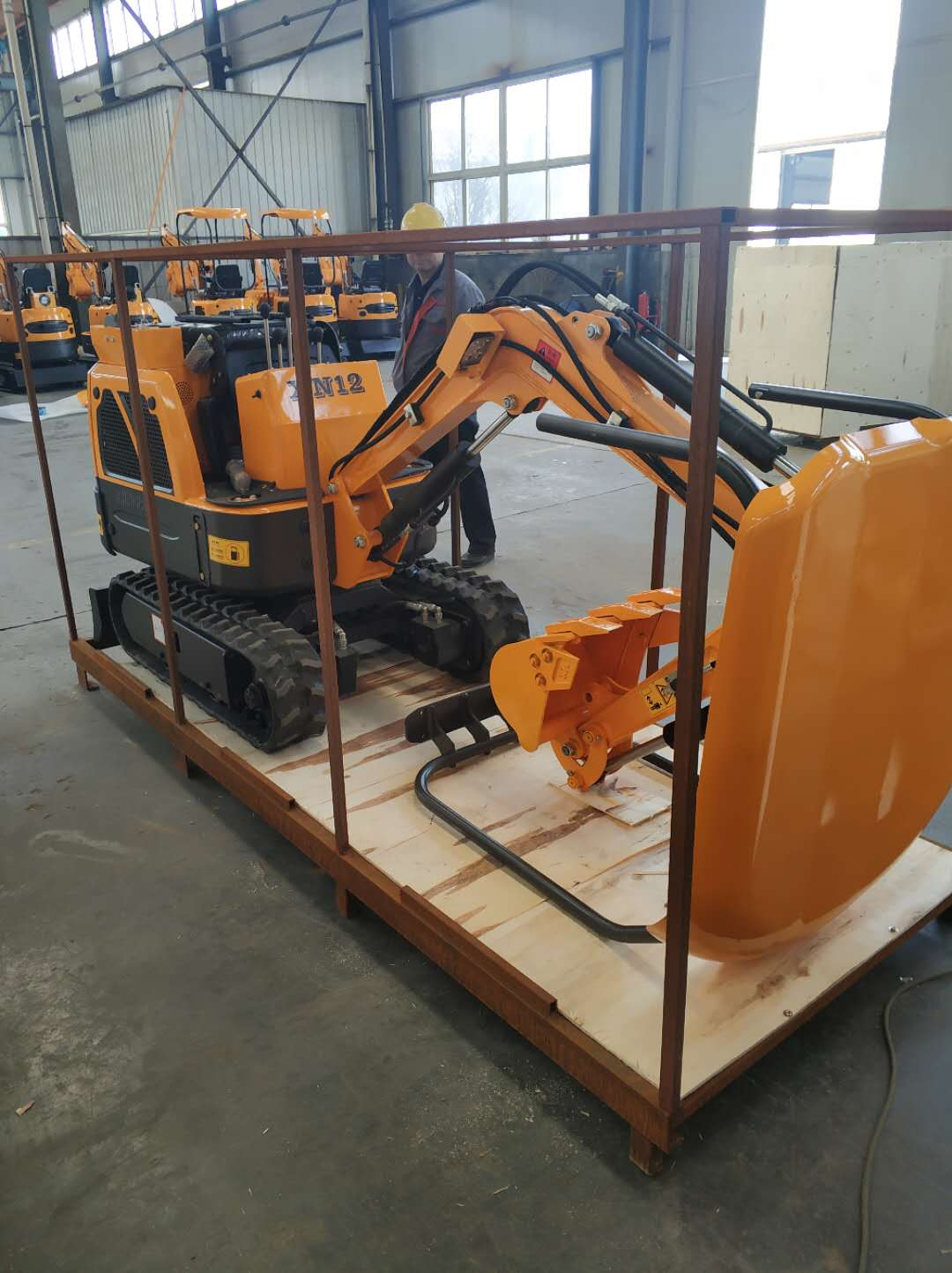 Mini Excavator XN12 Packing