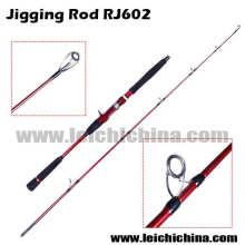 Nouveau Type Rj602 2.6 Pointe de Diamètre Pointe 2 Canne À Pêche De Jigging De Carbone