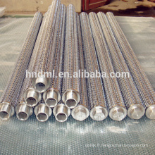 Filtre fritté élément filtrant fondu de résistance à la corrosion de grillage d'acier inoxydable de maille de filtre de 100 microns