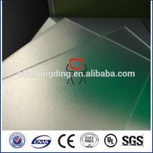 difusor opalino hoja de policarbonato esmerilado para LED