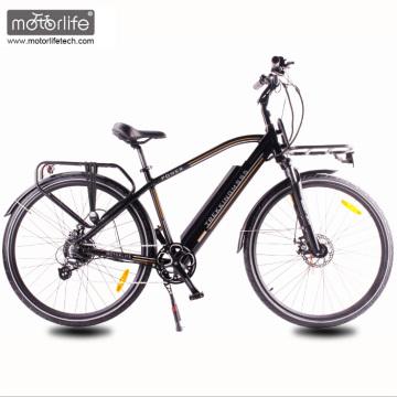 2017 energia Verde Novo design 36V350W cidade bicicleta elétrica com bateria escondida, baixo preço ebike com motor 8fun