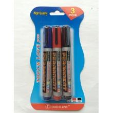 3PCS Permanent Marker Pen 8801, Retour à l'école