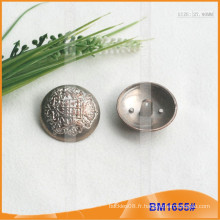 Bouton en alliage de zinc et bouton en métal et bouton de couture en métal BM1655