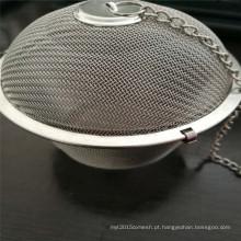 China barato pequeno ou grande bola de chá insufer usado para café ou chá