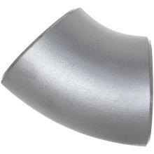 Encaixes de aço inoxidável do cotovelo do Lr de 45 graus