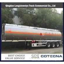 Remolques del tanque de combustible del compartimiento de Tri-Axle 40000-50000L de la fábrica