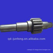 Customized gear shaft/plastic gear