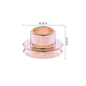 Colar de liga de metal de tamanho personalizado com várias cores de fábrica