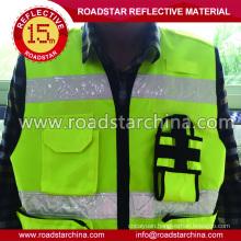 Men reflective safety warning vest