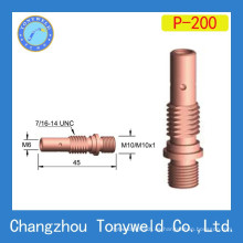 Soporte de punta de contacto de cobre Panasonic 200A