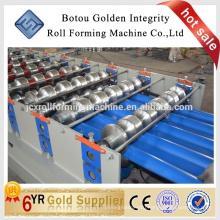 Corrugated iron roofing sheet forming making machine
