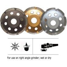 Diamond Grinding Cup Wheel (Single Row)
