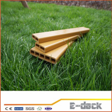 Resistencia a la intemperie eco-amigable al aire libre banco de plástico compuesto de madera wpc con alta calidad