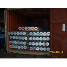 Barra redonda e barras cilíndricas de alumínio extrudado 2A12 / 2A06 / 6061/6063/6082/7075