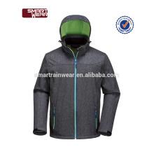 Winter Whoesale Softshell Jacke mit Kapuze für Männer