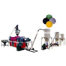 Extrudeuse de granule de PVC de ligne de pelletisation chaude de PVC
