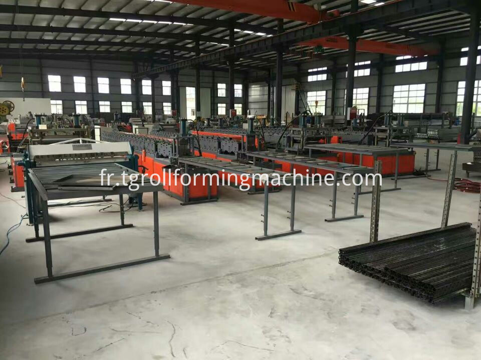 Metal Storage Racks Machine