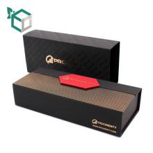 schwarz braun Farbe Folie Stempeln in gold Farbe Anpassung Design Großhandel Schokolade Geschenk-Paket-Box
