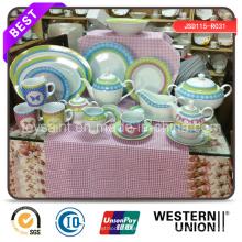 Hot Selling Abziehbild Porzellan Dinner Set