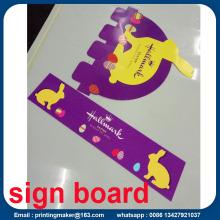 PVC Display Sign Board Printing