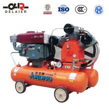 Compresor de aire de pistón diesel de la marca Dlr Jukong Es-1.5 / 14