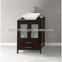 French style small size wall mounted corner bathroom cabinet
