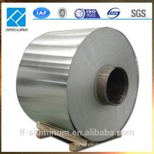 Hojas de revestimiento de aluminio en bobina para embalaje de tuberías
