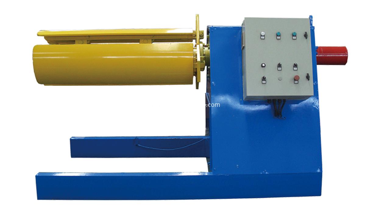6 tons hydraulic decoiler