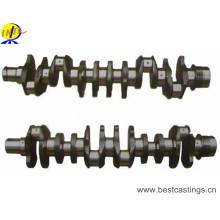 Ductile Iron Crank Shaft with CNC Machining