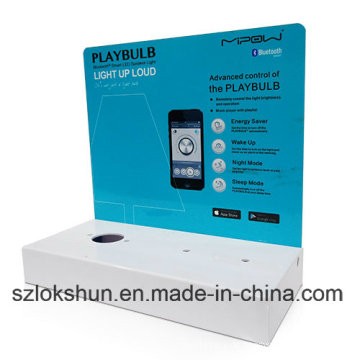 China Acryl Counter Display Ständer für Mobile Case, Printed Acryl POS Display