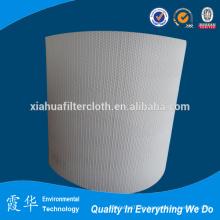 Paño de filtro de desulfuración blanco para filtración de líquidos