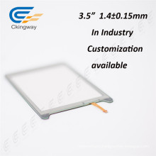 """3.5"""" 4 Wire Resistive Touch Screen Overlay Kit"""