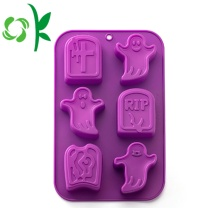 Stampi in silicone Pane Halloween Ghost 3D Stampi per cottura