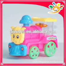 Colorful Plastic Pull Line Train Toy ,Pull Line Toys With Light