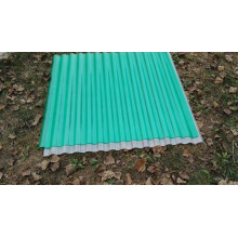 Hoja corrugada de varias capas de hoja de policarbonato