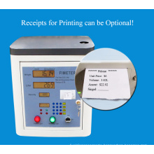 A food filling machine that is about to be sold out Fimeter brand filing machine print tickets