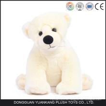 Personalizado Mini felpa oso polar realista para la venta