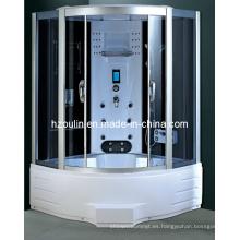 Cabina de lujo completa del cubículo de la caja de la casa de la ducha del vapor (C-25-135)
