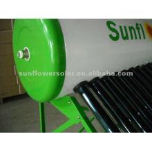 Chauffe-eau solaire pressurisé avec chauffage thermique avec chauffage électrique