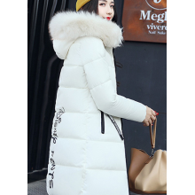 Warm Fur Parka Fashion Hooded Quilted Coat Winter