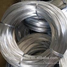 Galvanisierte Oberflächenbehandlung und elektro-verzinkte verzinkte Technik Elektro-Zink-beschichtete Eisen-Draht direkt ab Werk
