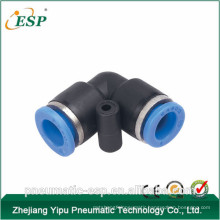 yuyao ESP plastic pneumatic union elbow fittings