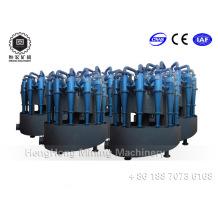 Hydrocyclone de polyuréthane à haute capacité, haute capacité